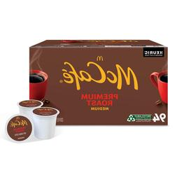 McCafe Premium Roast K-Cup Coffee Pods  100% Arabica Coffee