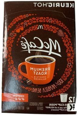 McCafe Premium Roast Medium Coffee 12 K-Cups Expires 10/2020