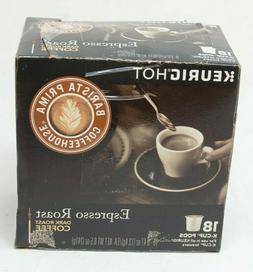 Barista Prima Coffeehouse Espresso Roast Keurig Coffee k-cup