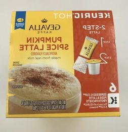 Gevalia Pumpkin Spice Caffe Latte K-Cup Pods & Froth Packets