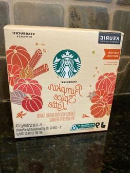 New Starbucks Pumpkin Spice Caffe Latte Keurig Hot Limited E