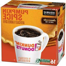 Dunkin Donuts Pumpkin Spice Keurig Hot K-Cups 5 boxes 80 kcu