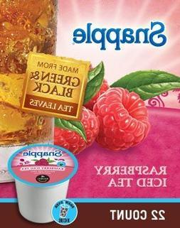 Snapple Raspberry Iced Tea, 22 Kcups, FREE SHIPPING