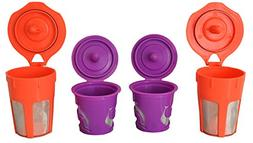 EcoSave Refillable/Reusable K Carafe And K-Cups Filter Combo