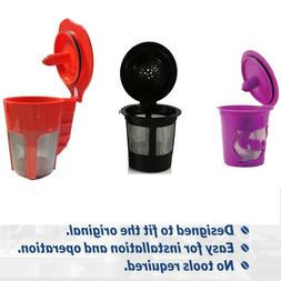 Refillable Reusable K-Cup K Carafe Coffee Filter Pod Fits Ke
