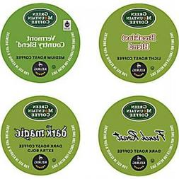 Green Mountain Regular Coffee Variety Pack 22 to 88 Keurig K