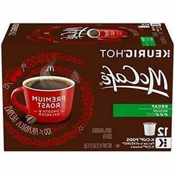McCafe Coffee Premium Medium Roast Decaf K-Cup Packs, 12 Cou