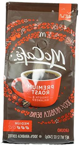 McCafe Premium Roast Medium Ground Coffee, 12 oz
