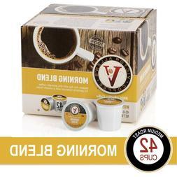 Victor Allen's Coffee K Cups, Decaf Morning Blend Single Ser
