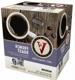 Victor Allen's Coffee K Cups, French Roast Single Serve Dark