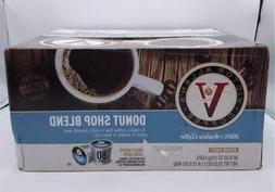 Victor Allen's Donut Shop Blend Medium Roast 80 K-Cups