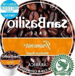 San Basilio K cups Organic Tramonto Medium Roast Coffee High