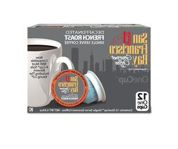 San Francisco Bay Coffee French Roast Decaf Coffee K-Cups 12