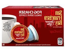 San Francisco Bay Fog Chaser Coffee 80 K-Cups