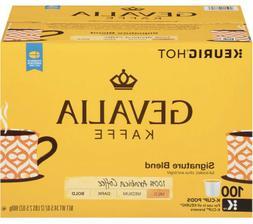 Gevalia Signature Blend Coffee 100 K-Cups Brand New. Ships F