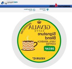 GEVALIA Signature Blend DECAF Keurig Coffee K-cups