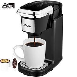 AICOK Single Cup Coffee Maker, Single Serve Coffee Brewer wi