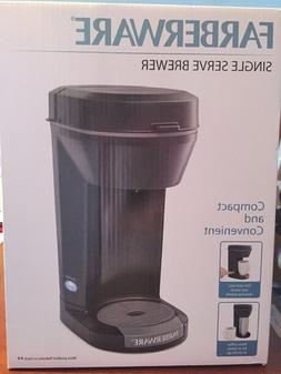 Farberware Single Serve Brewer   Brewer Capsule Coffee Machi