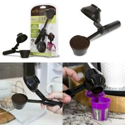 Single Serve Refillable Capsules Pod EZ-Scoop Tool For Refil