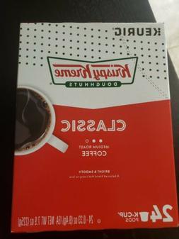 Krispy Kreme Smooth Light Roast Coffee 48 K-Cups Free Shippi