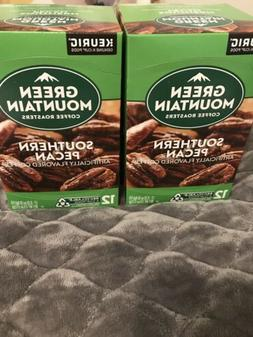Green Mountain Southern Pecan Coffee 12 Keurig K cups