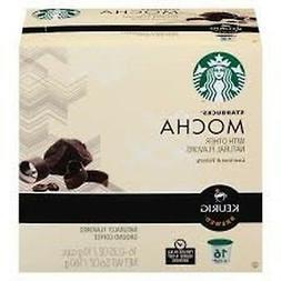 Starbucks Mocha Flavored Coffee Keurig K-cups 16 Ct