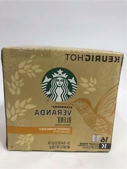 Keurig Starbucks Veranda Blend Blonde Roast Coffee 16 K-Cups