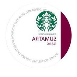 STARBUCKS SUMATRA COFFEE 96 K CUP PACKS