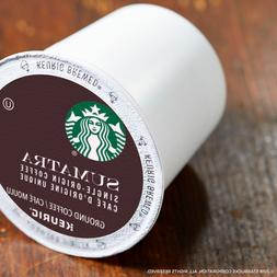 Starbucks Sumatra Coffee K-Cups, Dark Roast, Keurig