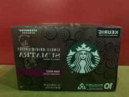 Starbucks Sumatra Dark Roast Coffee for Keurig K-Cups 60 Pod