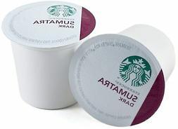 Starbucks Sumatra Dark Roast Coffee Keurig K-Cups, 48 Count
