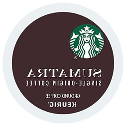 Starbucks Sumatra Dark Roast Coffee Keurig K-Cup Pods