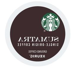 Starbucks Sumatra Dark Roast Keurig K-Cups 24-96 Count - FRE