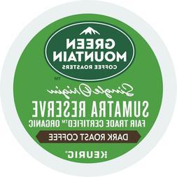 Green Mountain Sumatra Reserve Coffee 24 to 144 Keurig K cup