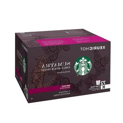 Starbucks Sumatra Single Origin Dark Roast 72 K-Cups for Keu