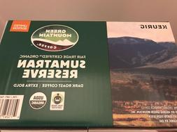 Green Mountain Coffee Sumatran Reserve, Dark Roast, Keurig K