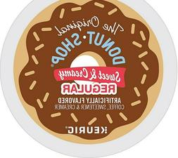 The Original Donut Shop SWEET AND CREAMY K Cups 10 pk