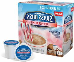 Swiss Miss Peppermint Hot Cocoa 16 to 96 Keurig K cup Pods P