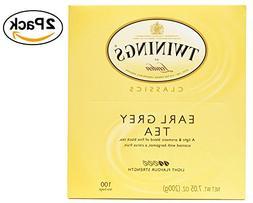 Twinings Tea, Earl Grey, 200 Count