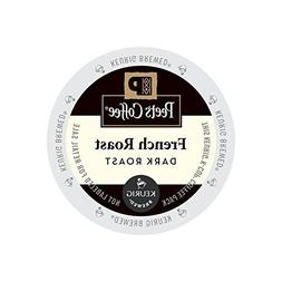 Peet's Coffee & Tea French Roast K-Cup Portion Pack for Keur