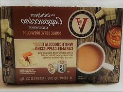 The Indulgent coffee K cups single serve brew cups,White cho