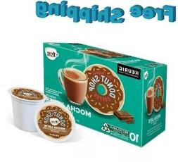 The Original Donut Shop 1 Step Mocha Latte Coffee Keurig k-c