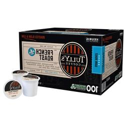 Tully's Coffee French Roast K-Cups for Keurig Brewers