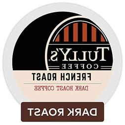Tully's Coffee French Roast Keurig Single-Serve K-Cup Pods,
