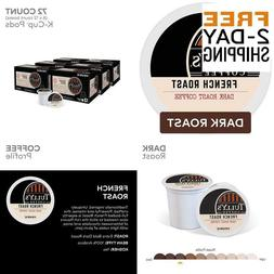 Tully'S Coffee, French Roast, Single-Serve Keurig K-Cup Pods
