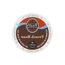 Tully's French Roast Extra Bold Coffee Keurig K-Cups 96-Coun
