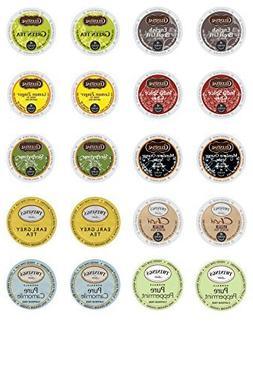 Twinings & Celestial Seasonings Hot Tea K-cup Variety Pack f
