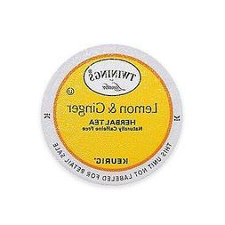 Twinings of London Lemon & Ginger Herbal Tea Keurig K-Cups 2