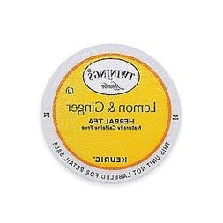 Twinings of London Lemon & Ginger Herbal Tea Keurig K-Cups 1