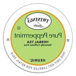TWININGS Tea K-Cups Peppermint Tea 0.11 oz K-Cups 24/Box 087